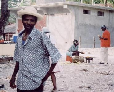haitians, picture 2: man. click on the image to go to the next picture