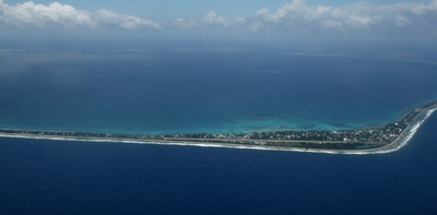 tuvalu, picture 1: fongafale. click on the image to go to the next picture